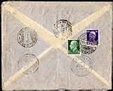 ufficio postale paullo posta aerea posta transoceanica lati zeppelin