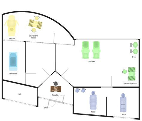 spa layout plan drawing spa floor plan how to draw a floor plan for spa in