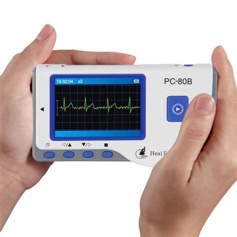 Monitor Ekg portable handheld color ekg monitor lead cable