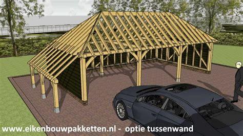 zelf l maken hout carport bouwen hoe bouw ik eiken bijgebouw of zelfbouw