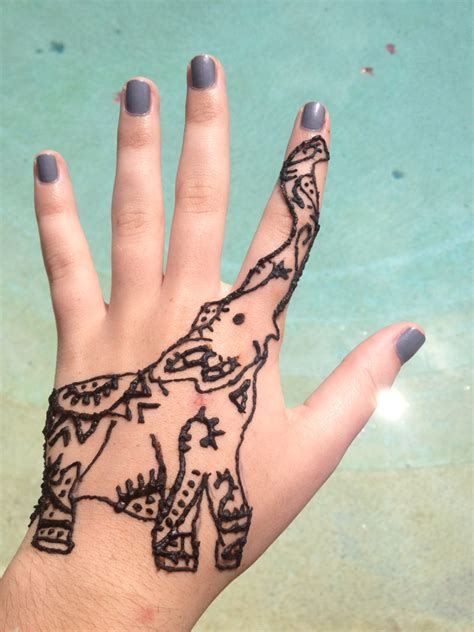 henna tattoo cute henna makedes