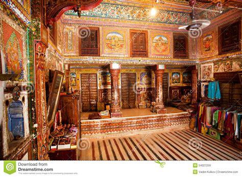 Indian House Interior Design int 233 rieur de pi 232 ce avec de vieux fresques dans la maison