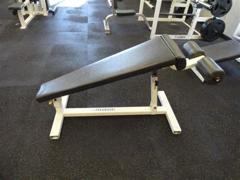 paramount weight bench midwest used fitness equipment paramount adjustable