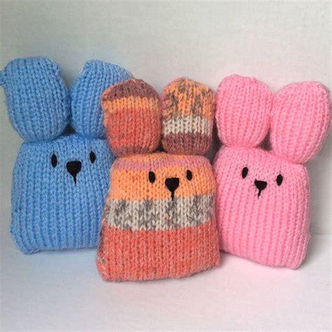 knit kit bunny mini craft kit by gift knit kits