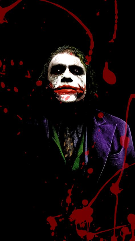 joker splash hd wallpaper   mobile phone