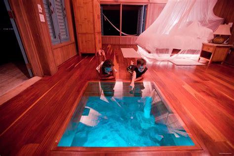 water for bedroom spectacular bedroom with glass floor the water