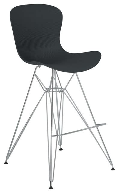 molded plastic counter stool beloit barstool with durable molded plastic seat black
