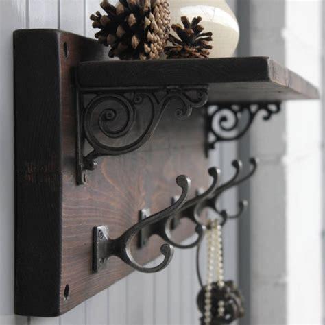 Coat Hook And Shelf by Reclaimed Wood Coat Hook Shelf M 246 A Design