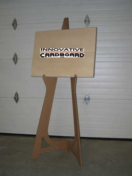 How To Make A Paper Easel - 12 best images about easel diy on easel