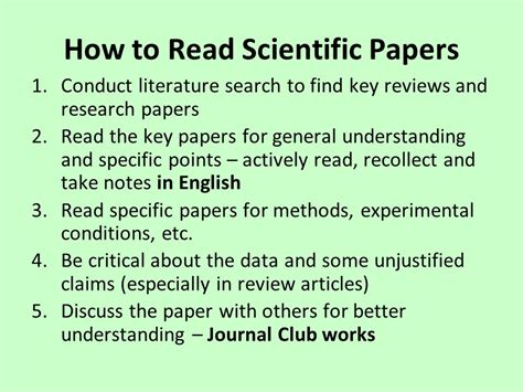 how to conduct a research paper how to conduct research and write scientific papers ppt