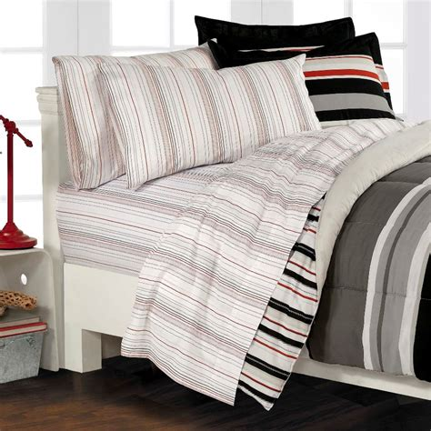 nautical bedding twin nautical stripe gray 5p boys teen bedding set twin ebay