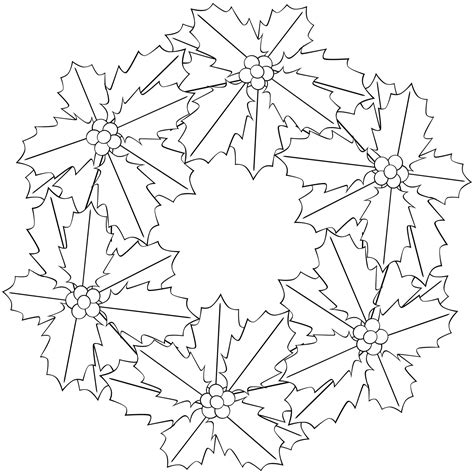 poinsettia leaves coloring pages free coloring pages of flower poinsettia