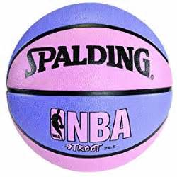 colored basketballs spalding nba basketball pink