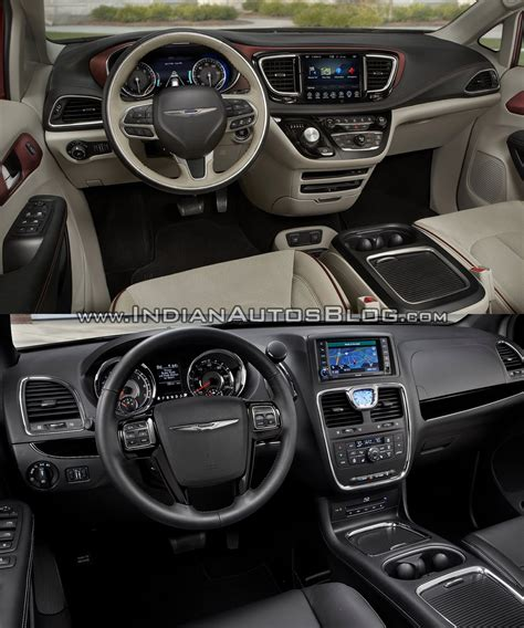 As New Upholstery by Chrysler Pacifica Vs Chrysler Town Country Pictorial