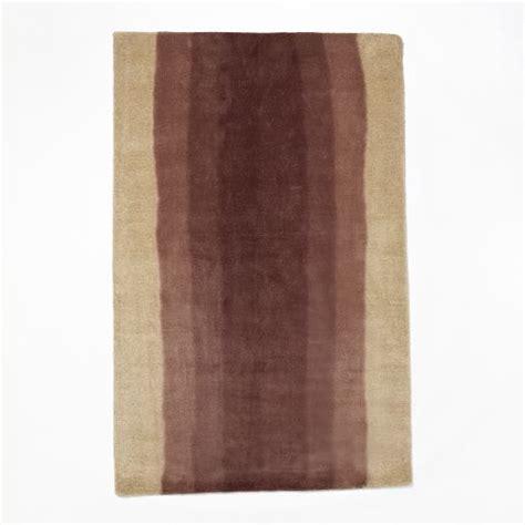 how to dye a wool rug ombre dye wool rug light raisin west elm