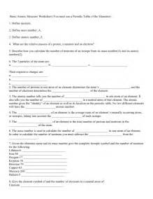 How To Calculate Protons Neutrons And Electrons Worksheet Atomic Theory Worksheet 1 Electrons Protons And Neutrons