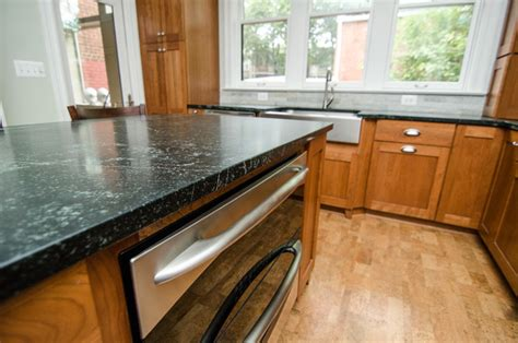 eased edge countertop granite edge eased edge contemporary kitchen