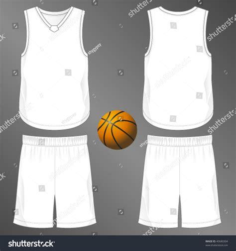 desain jersey basket vektor sports series realistic team basketball uniform stock