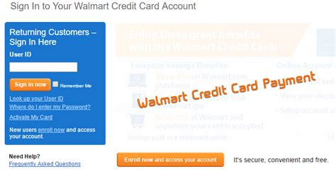 walmart credit card make payment check credit card status hdfc icici axis bank of