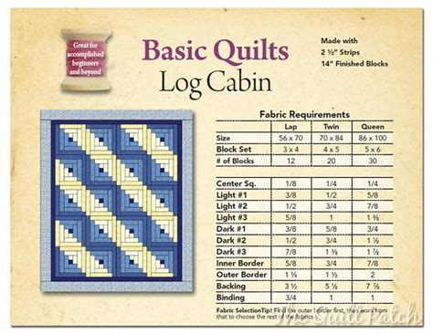 log cabin quilt pattern yardage 17 best images about quilt ideas on pinterest pinwheels