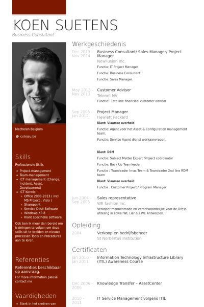 Manager Cv by Project Manager Resume Sles Visualcv Resume Sles