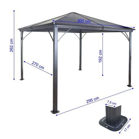 pavillon kunststoff hardtop pergola hwc c74 garten pavillon kunststoff dach