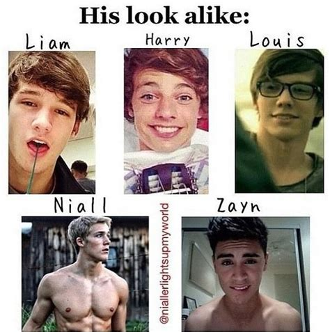 see what the guys of one direction look like covered in 1d look alikes we gon find you my british love