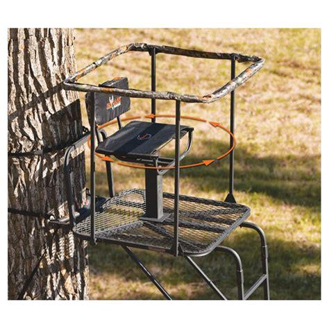 Swivel Tree Stand - big infinity 16 ladder tree stand 229430 ladder