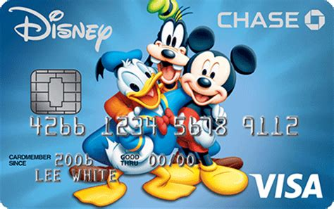 Disney's Mickey Mouse Visa® Credit Card from Chase $50 Visa Gift Card Png
