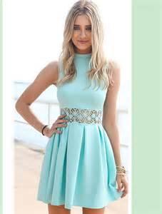 mini dresses light blue dress in dresses from