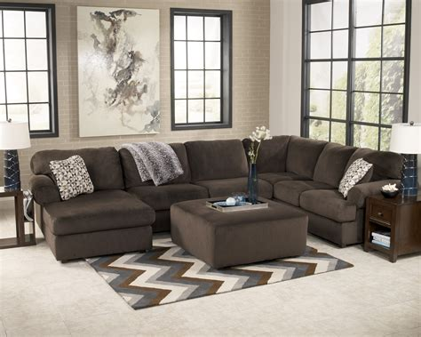 sectional living room set buy jessa place chocolate living room set by signature design from www mmfurniture