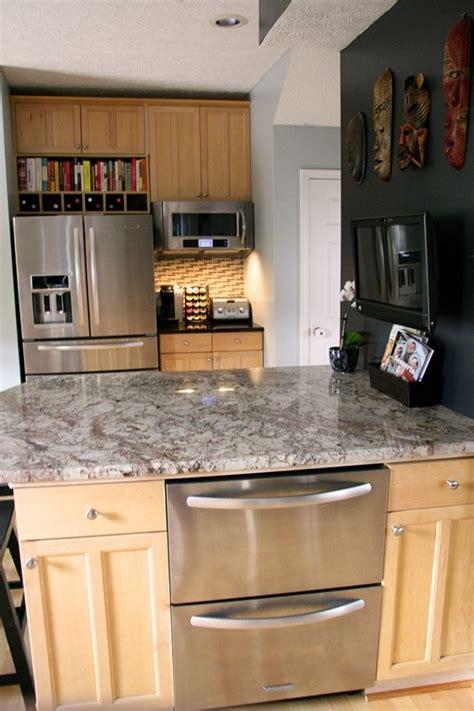 Kitchen Island With Refrigerator 301 Best Images About Refrigerator On Best Refrigerator Freezers And Glass Door