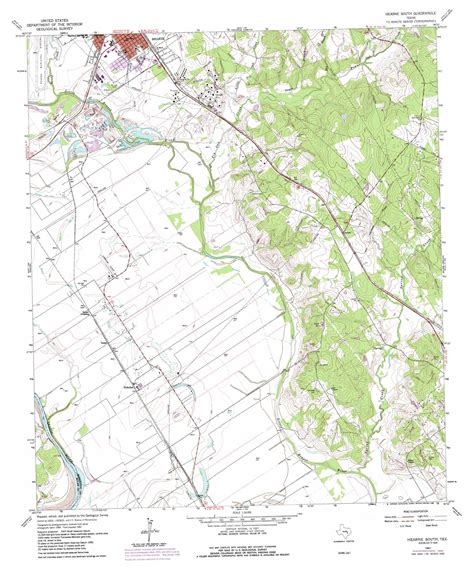 hearne texas map hearne south topographic map tx usgs topo 30096g5