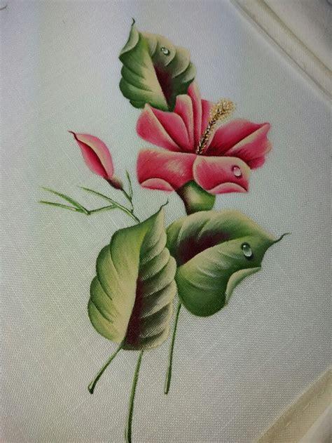 fiori da dipingere su stoffa oltre 25 idee originali per pittura su stoffa su