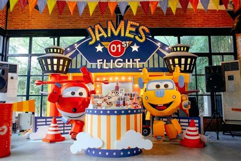 karas party ideas colorful airplane themed birthday party karas party ideas