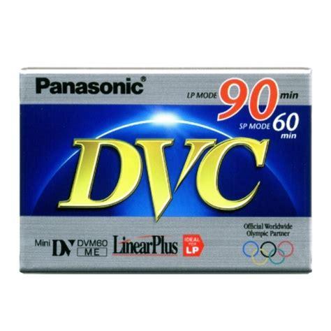 Promo Panasonic Mini Dv 90 Min Dvm 60 Murah Bagus panasonic mini dv 60 90min lp mode ay dvm60ff total media inc 1 201 848 1100 blank