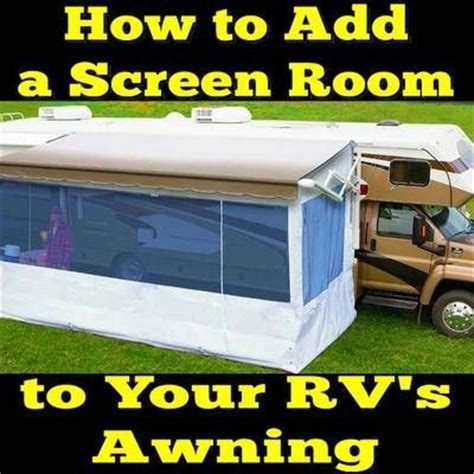 Awning Add A Room by 1000 Images About Rv Hacks On Rv Storage