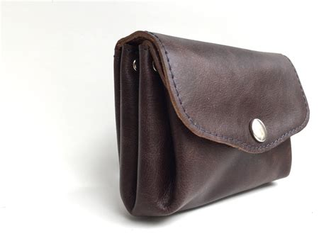 Mocca Leather Wallet wallet leather leather wallet mocca leather