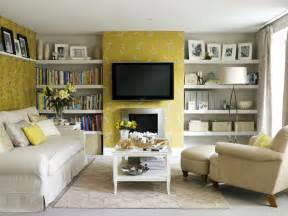wallpaper livingroom yellow modern wallpapers page 4