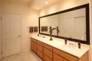 frames for large bathroom mirrors mirror frame kits for existing mirrors mirrorchic