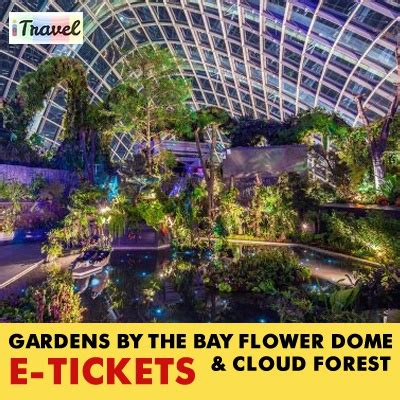 qoo10 itravel eticket gardens by the bay e ticket for
