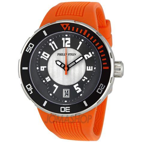 philip stein orange rubber s 34