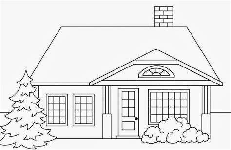 house to draw colour drawing free wallpaper big house coloring drawing