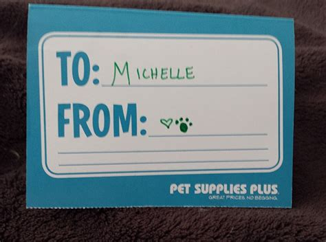 Pet Supplies Plus Gift Card - spoil your pets like they deserve during pet appreciation week