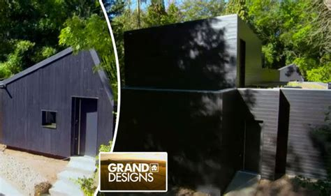 grand designs house in the woods kevin mccloud follows couple building windowless black box house life life style