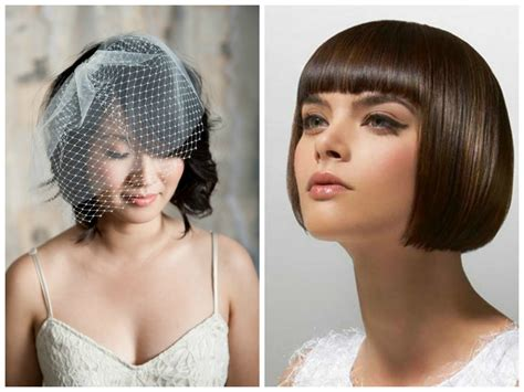 Wedding Hairstyle Bob Hair by Blunt Bangs Bob Wedding Hairstyles Hairstyles
