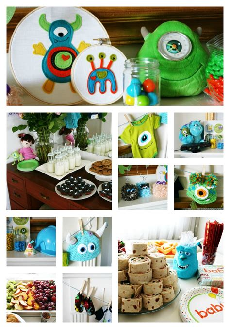 monsters inc baby shower ideas clever monsters inc themed baby shower