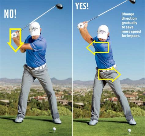 golf driver swing negative and positive attack angle for golf driver swing