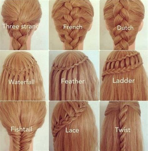 different types of braids with pictures google search dutch braid tumblr
