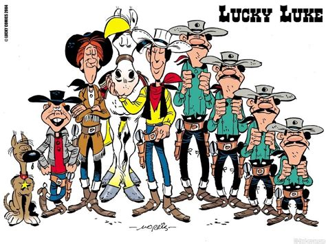 The Lucky Luke by Wallpaper Sea Lucky Luke Wallpaper